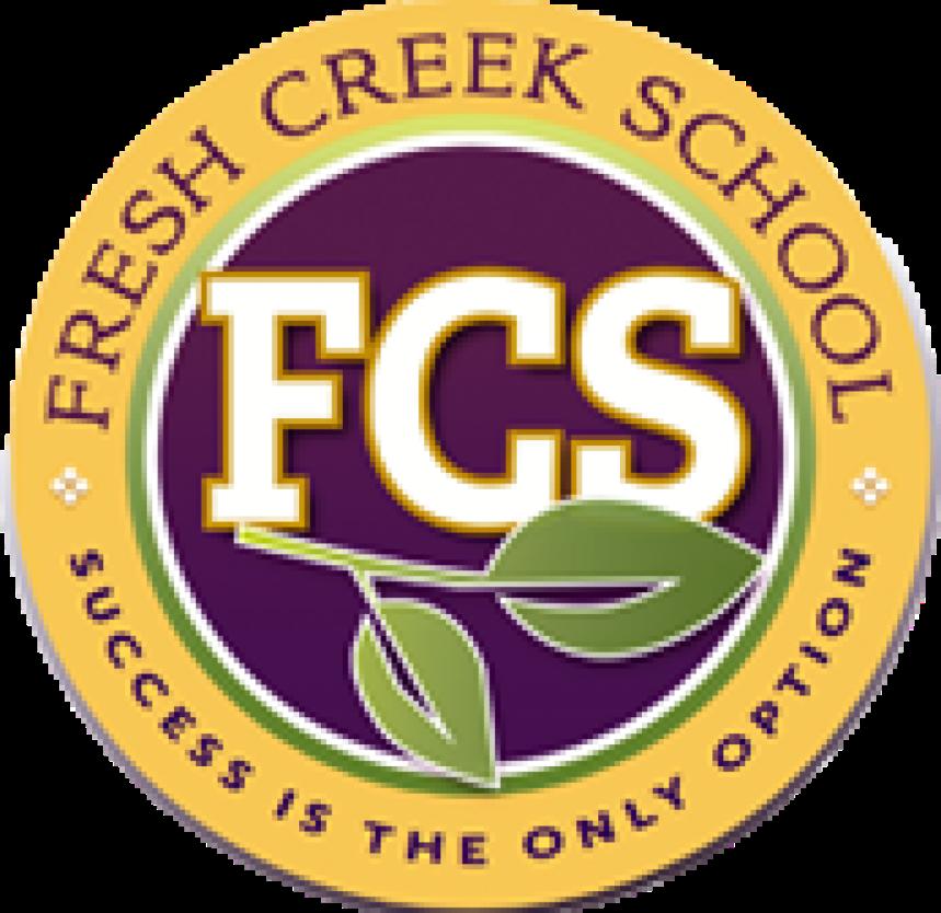 Circle logo that says FCS